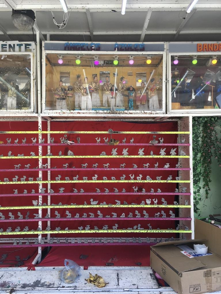 Galería de tiro con vitrina de maquetas interactivas, feria navidad parque morelos, GDL MX 2018