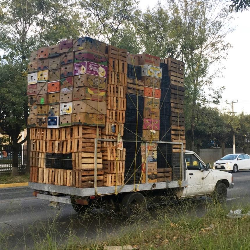 wacales y cajas atadas, GDL MX